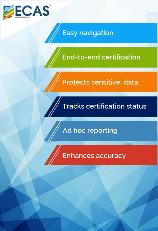 Effort Certification Application System